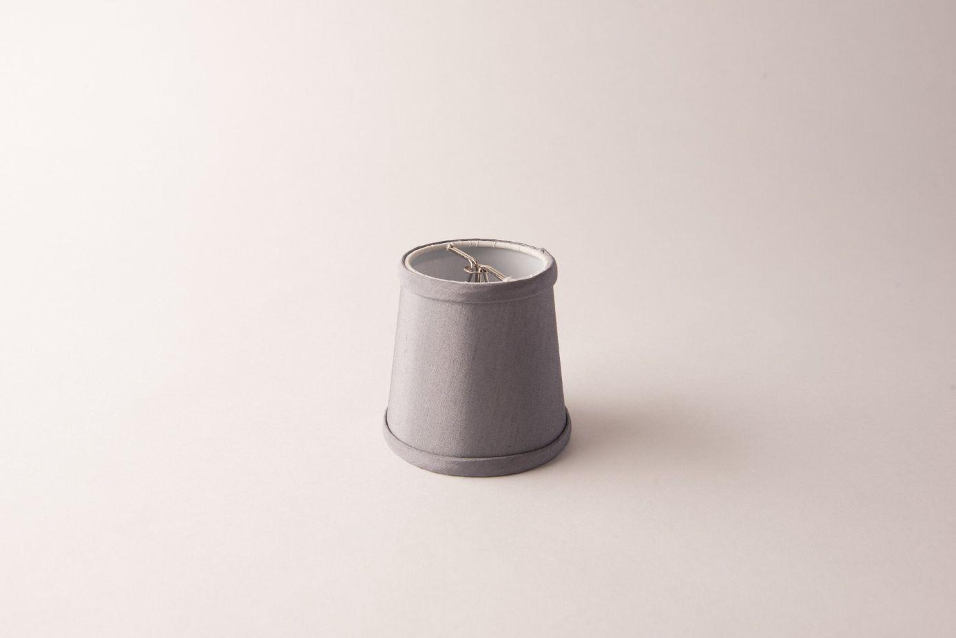 Empire Grey Silk Blend Chandelier