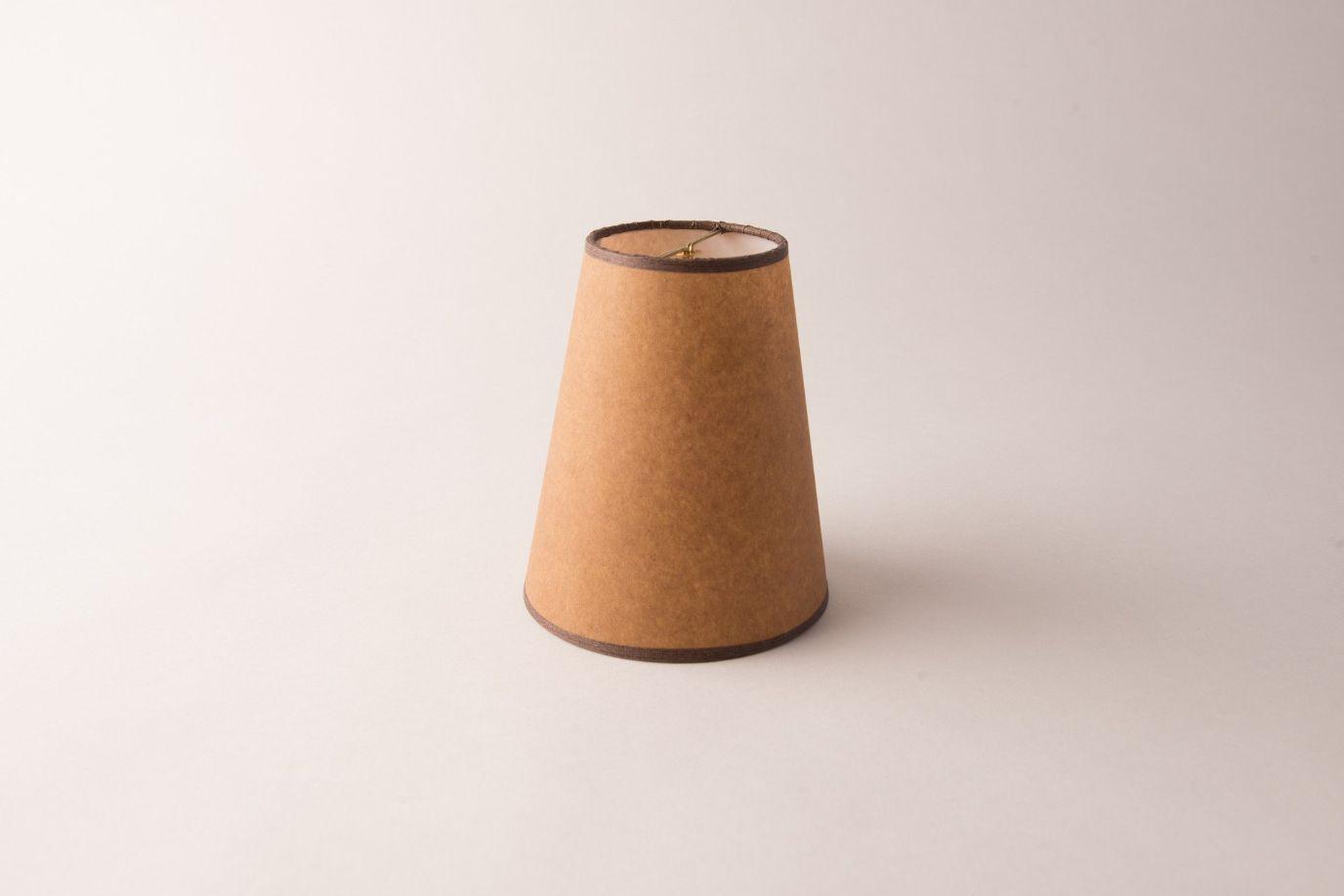 Cone Kraft Paper Chandelier