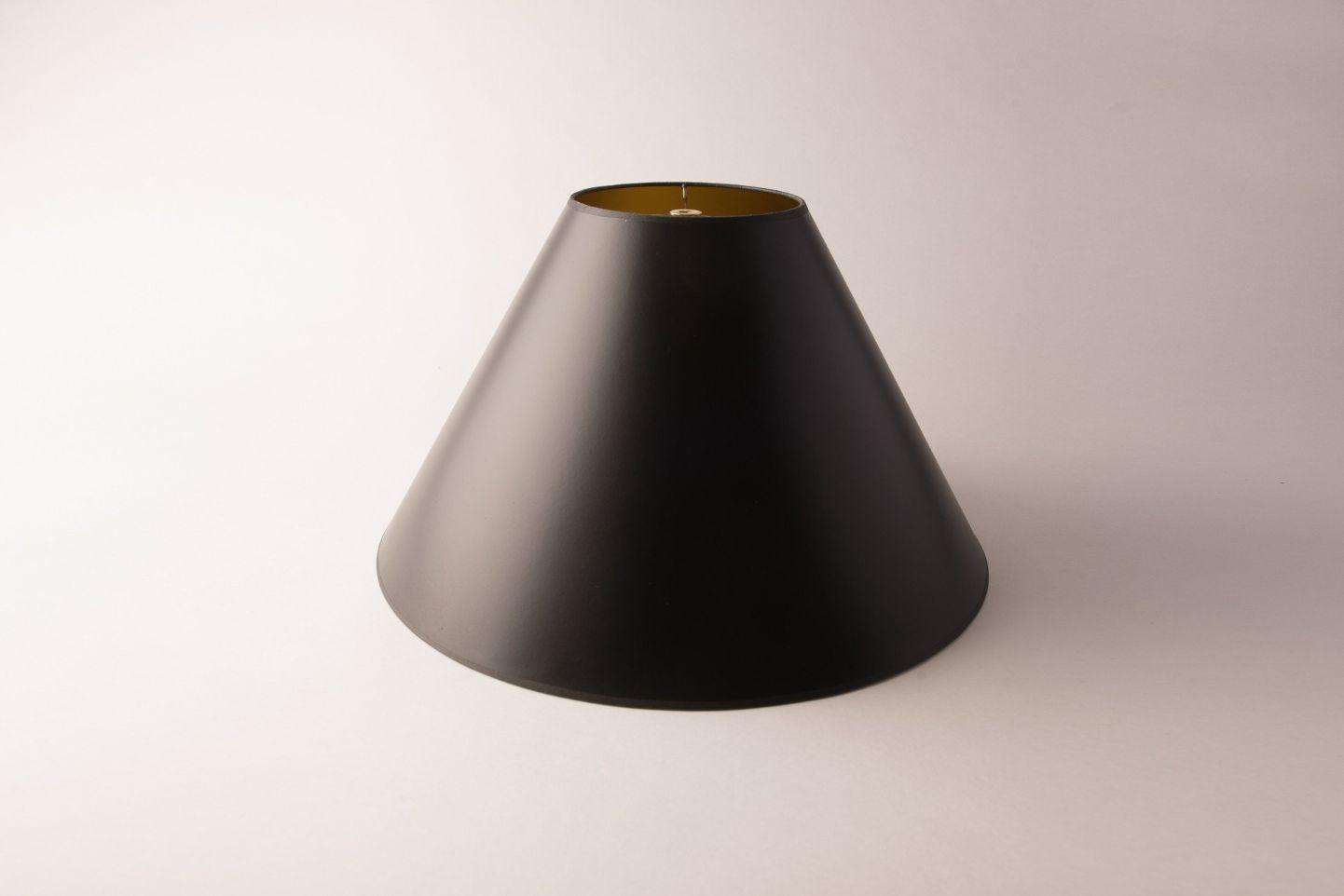 Coolie Black & Gold Opaque Paper
