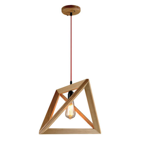 Pendant Light Wood Design
