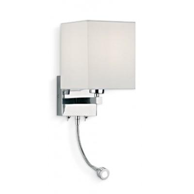 Hotel Headboard Wall Lamp with LED Reading Light