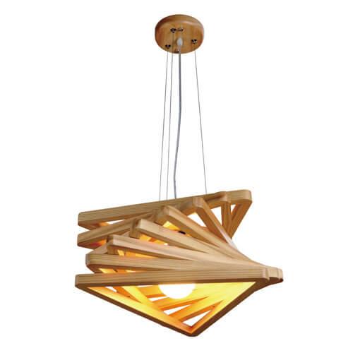 Pendant Light Wood Design