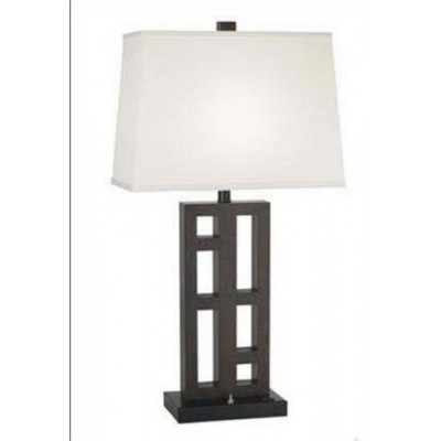 Espresso/Brushed Nickel Table Lamp for Holiday Inn Urban
