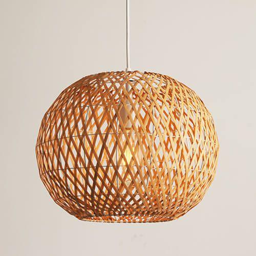 Pendant Light Bamboo Design