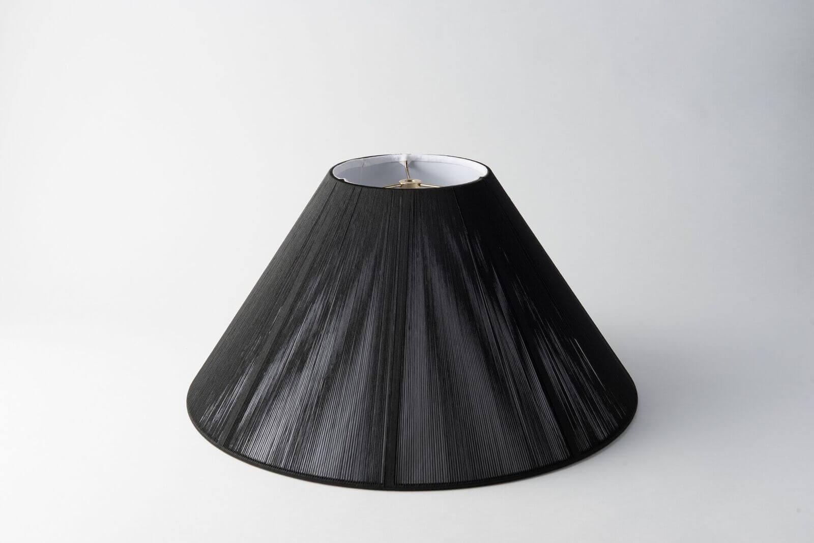Coolie Silk String Black