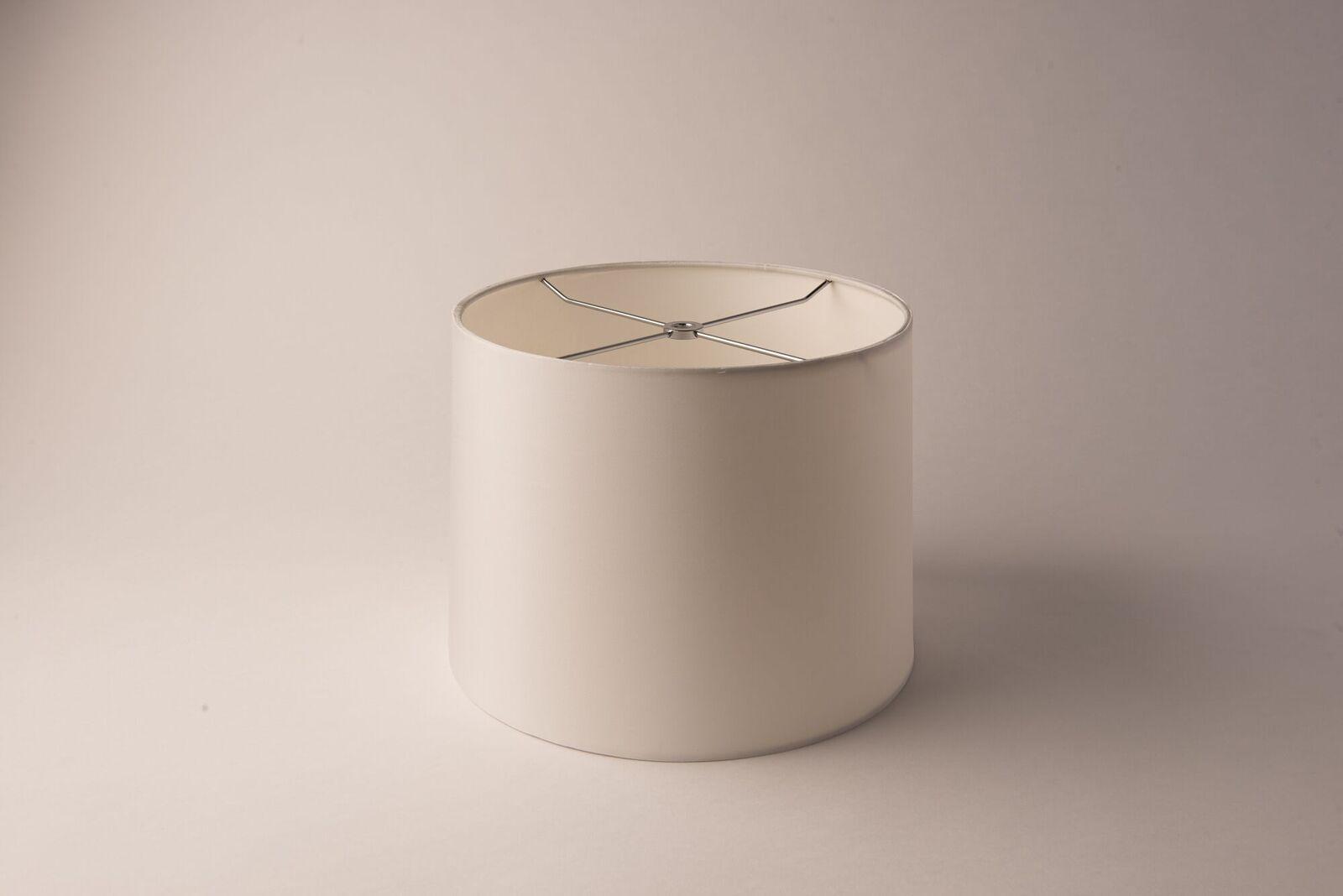 Drum Rolled Edge Bone Silk
