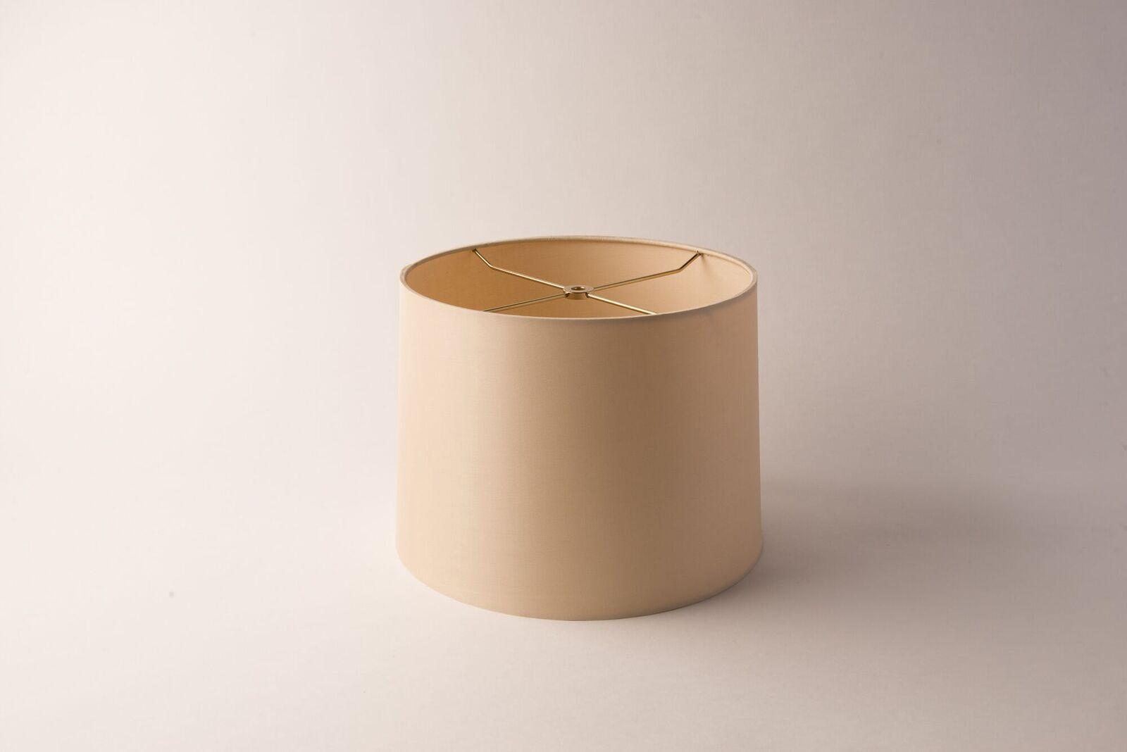 Drum Short Silk Gold Rolled Edge