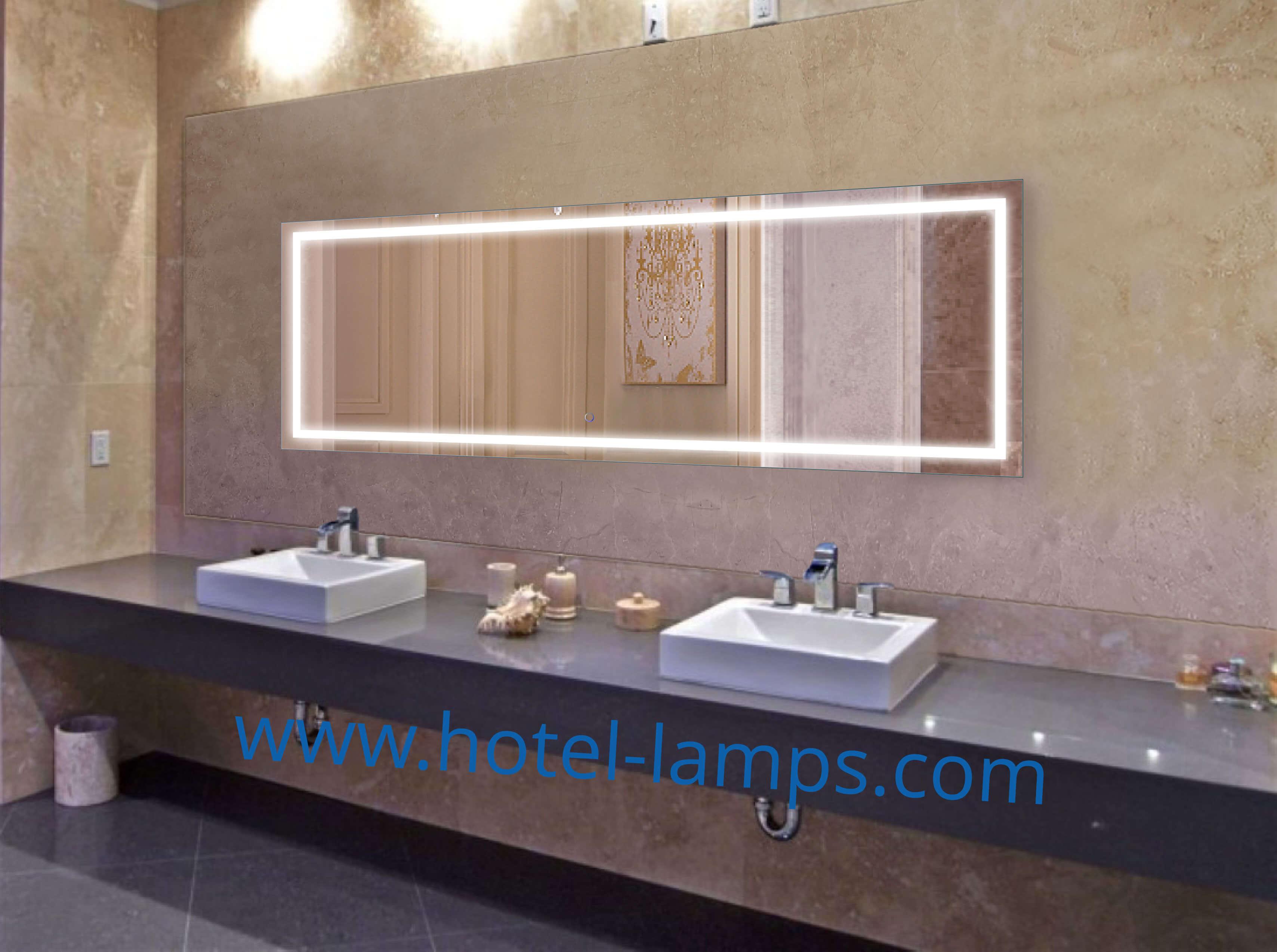 LED Mirror - Rectangle