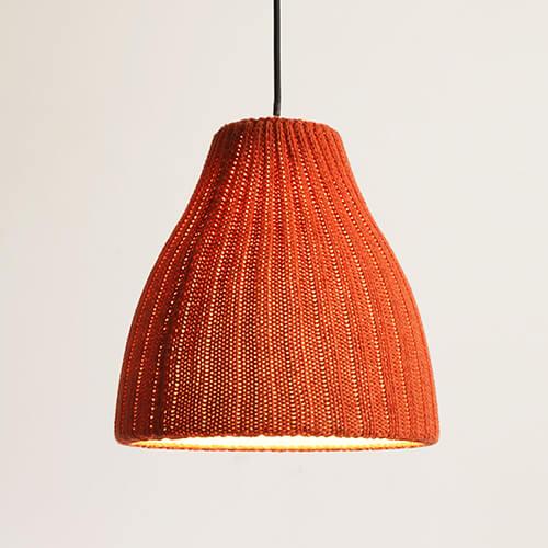 Pendant Light Knitting Wool Design
