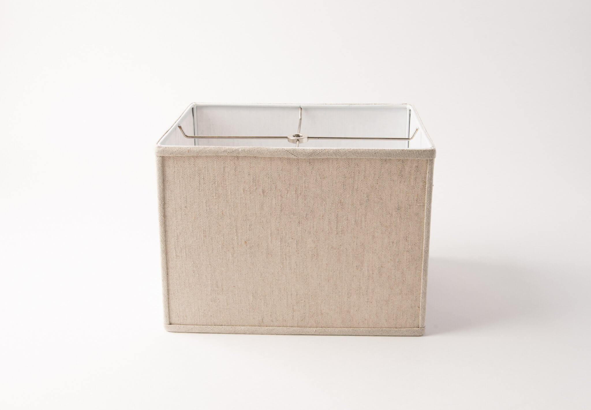 Rectangle Box Beige Linen